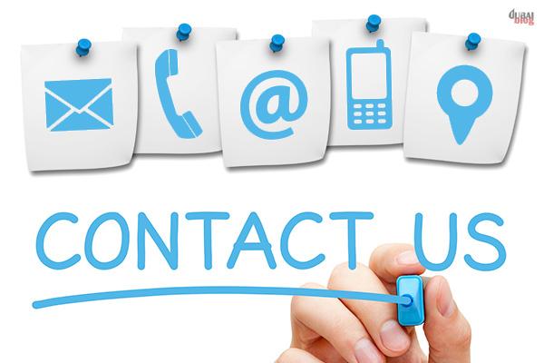 DubaiBlog Contact Us