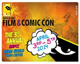 Digital Media Partner of the Middle East Film and Comic Con since 2013