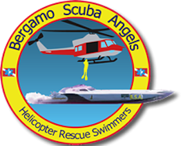 Digital Media Partner of Bergamo Scuba Angels since 2012. Nico de Corato since 2013 is also active member of the team as heli rescue diver and International PR.
