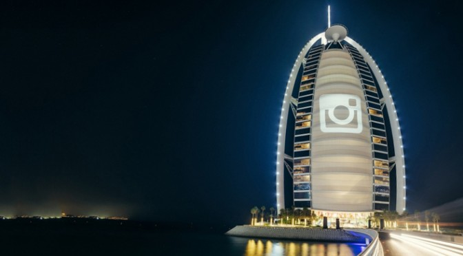 Burj Al Arab Instagram Marketing Strategy